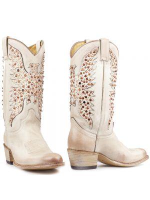 Sendra laarzen wit Serraje Blanco wedding boots in 2020