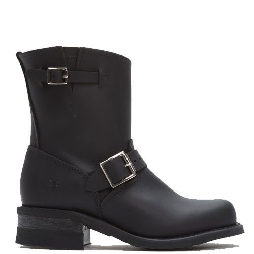 Uitgelezene Frye Women's Engineer 8R Black Leather Boots | Zwarte laarzen TU-52
