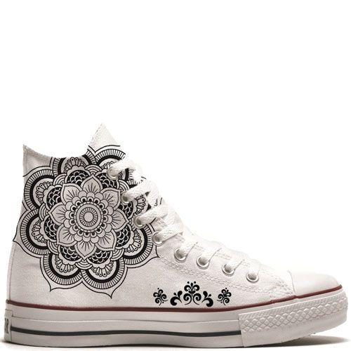 9fc9629c34f UNiCKZ All Stars Converse Mandala Tattoo Sneaker