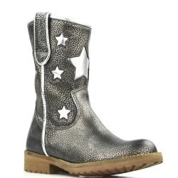 Hip star boots antraciet - zilver H1326