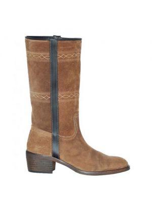 Andaluxx lange laarzen suede dames Alba brown