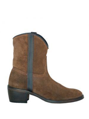 Andaluxx laarzen suede Lara Camel voor dames