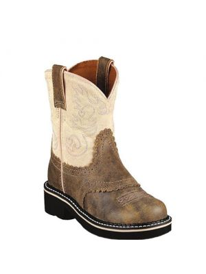 Ariat Fatbaby brown bomber saddle vamp 10001995