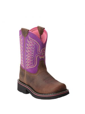 Ariat Fatbaby Thunderbird Boot Purple