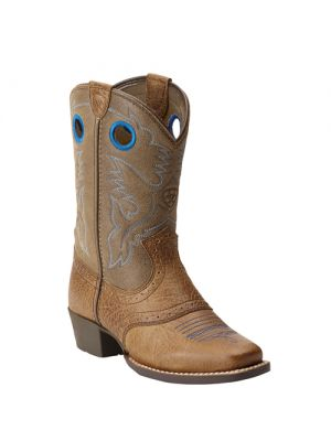 Ariat kinderlaarsjes roughstock blue 10015388