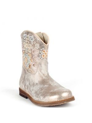 Clic! laarzen 8983 Zenit make up metallic goud