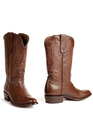 Cowboy boots heren Classic Mahogany Glased Boots bruin