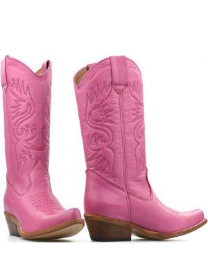 DWRS High Texas 20532 cowboylaarzen roze