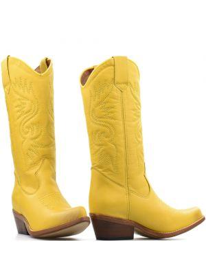 DWRS High Texas 20532 cowboylaarzen geel