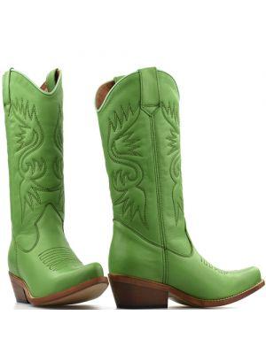 DWRS High Texas 20532 cowboylaarzen groen