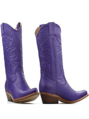 DWRS High Texas 20532 cowboylaarzen paars