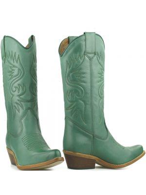 DWRS High Texas 20532 cowboylaarzen salie groen