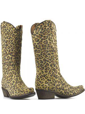 DWRS High Texas 20532 cowboylaarzen sand leopard