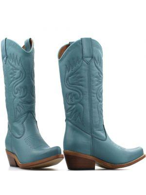 DWRS High Texas 20532 cowboylaarzen turquoise