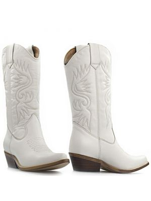 DWRS High Texas 20532 cowboylaarzen wit - wedding boots