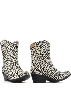 DWRS Low Texas Ponyhair 23145 cowboylaarsjes cheeta white