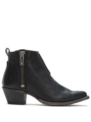Frye Sacha Moto Shortie boots black 78003