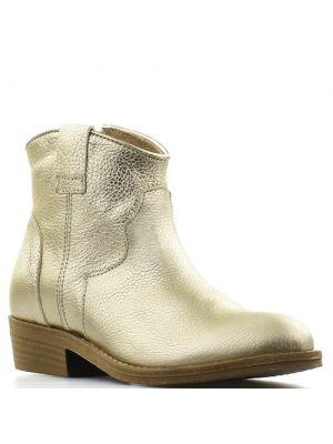 Hip korte westernlaarsjes H1202 goud