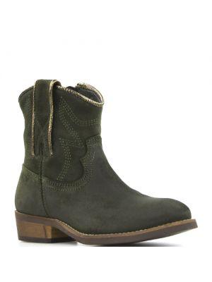 Hip korte westernlaarsjes H1843 groen