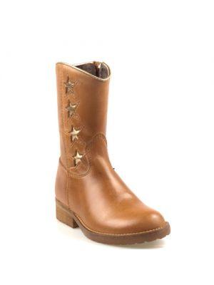 Hip Shoe Style kinderschoenen cognac mid bruin H1322 ster