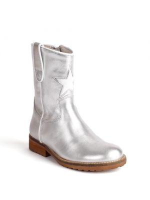 Hip Shoe Style H1324 Zilver - metallic / Wit