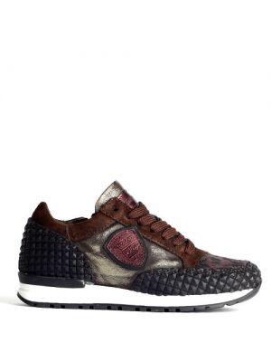Hip sneakers  Donker Bruin - Metallic H1547