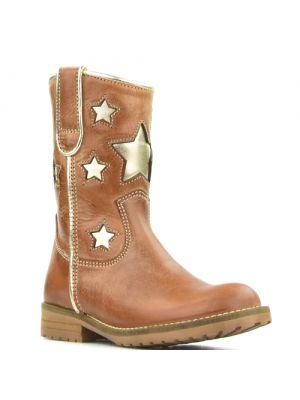 Hip star boots bruin - platina H1326