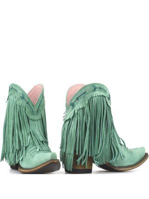 Junk Gypsy westernlaarsjes Spitfire Boots turquoise