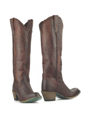 Lane Boots westernlaarzen Plain Jane donkerrood