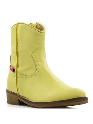 Koel4Kids cowboylaarsjes Velvet Yellow