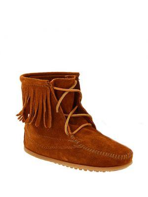 Minnetonka baby laarzen Tramper Boot Brown Suede 2422