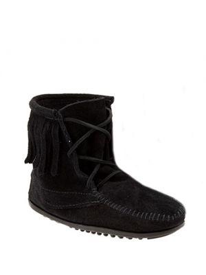 Minnetonka baby laarzen Tramper Boots Black zwart 2429