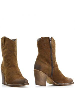 Poelman 13727 korte laarzen bruin date