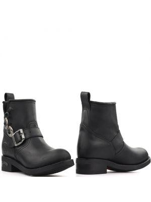 Sendra biker boots 13793 Sprinter Bras Negro zwart met concho's