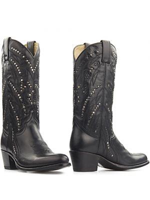 Sendra boots 12212 Zwart - Salvaje Negro