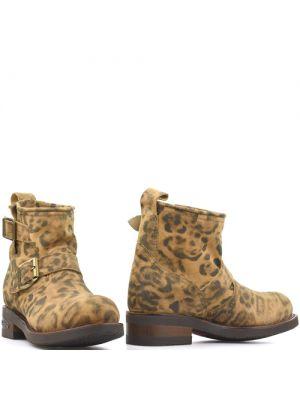 Sendra Carol 2976 Leopard biker boots