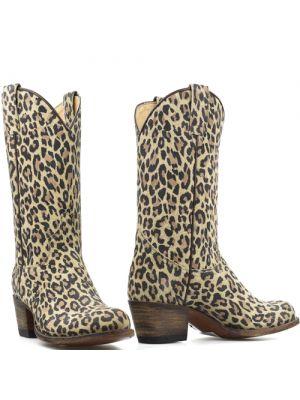 Sendra cowboylaarzen 1805 Leopard Natural