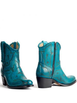 Sendra cowboylaarzen turquoise 13409