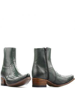 Sendra heren boots 5701P python groen