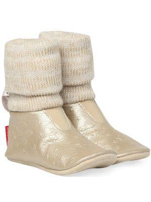 Shoesme BS5W501-O gold babyslofjes goud