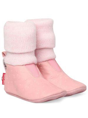 Shoesme BS5W501-O pink babyslofjes roze