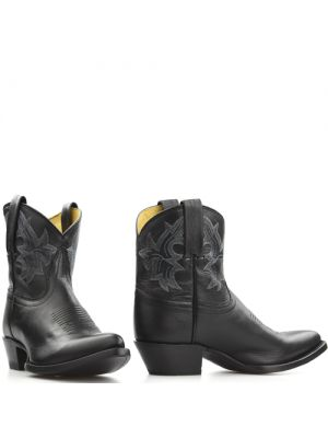 Tony Lama booties 6000L Zwart Black Thor