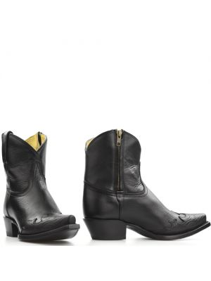 Tony Lama booties 6029L Zwart Black Thoroughbred