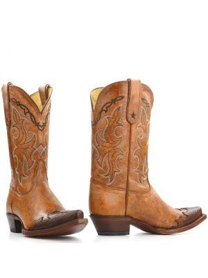 Tony Lama boots VF6003 Tan Santa Fe
