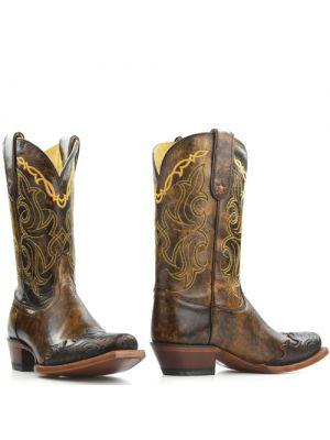 Tony Lama boots VF6004 Bark Santa Fe