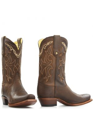 Tony Lama boots VF6007 Bruin Sorrel Tucson