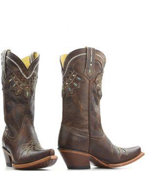 Tony Lama boots VF6007 Bruin Sorrel Tuscon