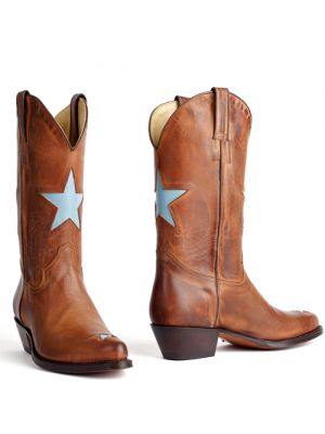 Tony Mora boots bruin Rony Totem Celeste 2135