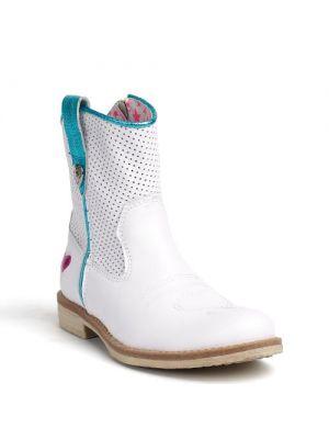 Mim-pi meisjes laarzen wit 2500-94 - mimpi kinderschoenen