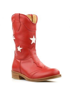 Zecchino d'Oro laarzen 1880 rood met sterren
